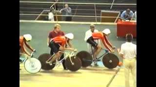 Велоспорт - трек. Чемпионат СССР 1989. КГП 4 км. Квалификация.