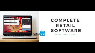 Retail Pro video