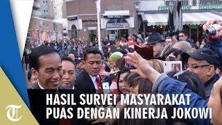 Hasil Survei Politik, Masyarakat Puas dengan Kinerja Pemerintah Jokowi