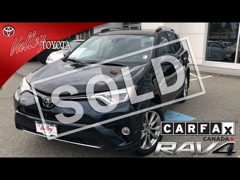 Certified Pre-Owned 2017 Toyota RAV4 Platinum