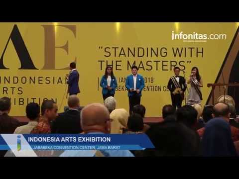 Indonesia Arts Exhibition di Jababeka Convention Center