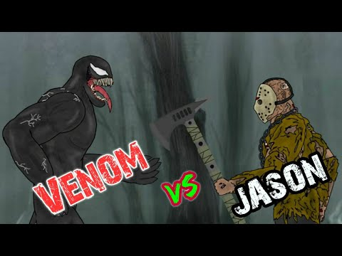 🔥 Battle of Jason Voorhees and Venom 2d Animation Movie