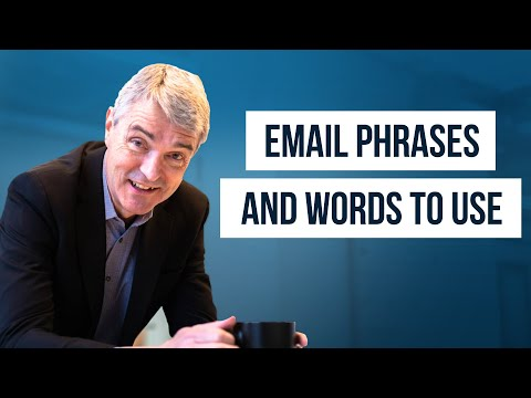Email Phrases You SHOULD Use