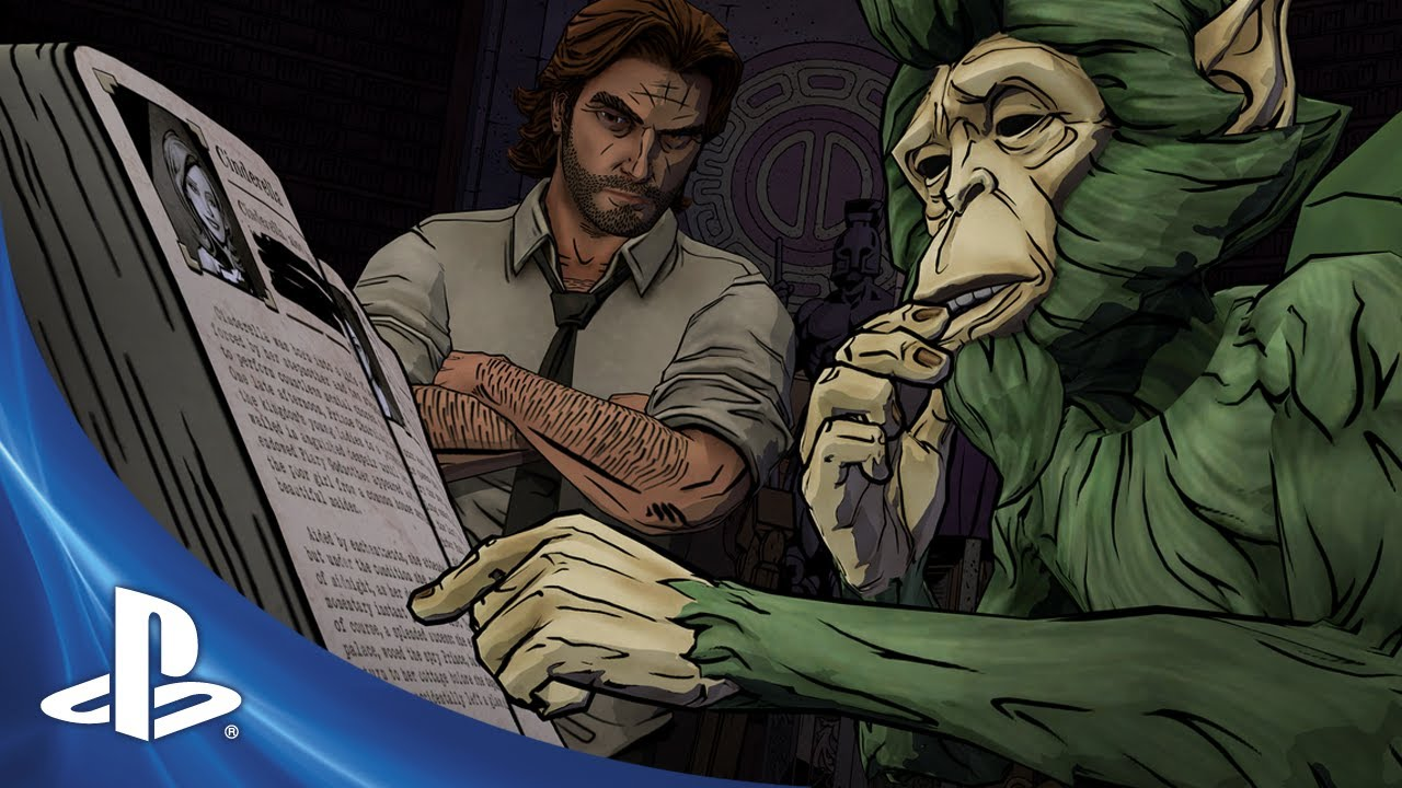 The Wolf Among Us Comes to PS Vita This Fall