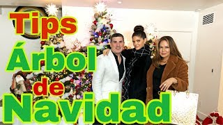 Tips árbol de Navidad barato / Ana Barbara / Elisa Beristain / Eduardo Khawam