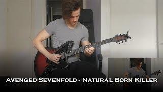 Avenged Sevenfold - Natural Born Killer (Guitar Cover + Solo)