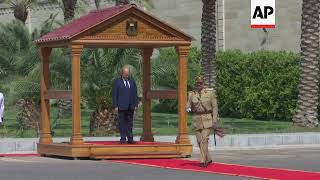 New Iraq President Salih Takes Part In Formal Handover Ceremony