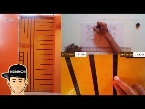 ide-kreatif-selotip-washi-tape-untuk-dekorasi-pintu