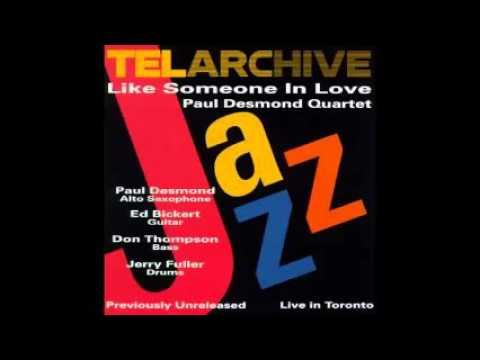 """Paul Desmond Quartet   """"Tangerine""""  (Toronto 1975)"""