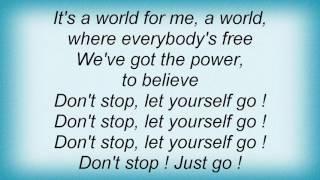2 Fabiola - A World For U And Me Lyrics