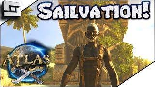ATLAS: Sailvation Server! Atlas Gameplay / Let's Play