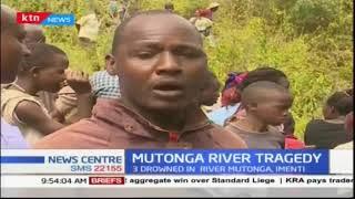 Three people drowned in Mutonga River in Meru County