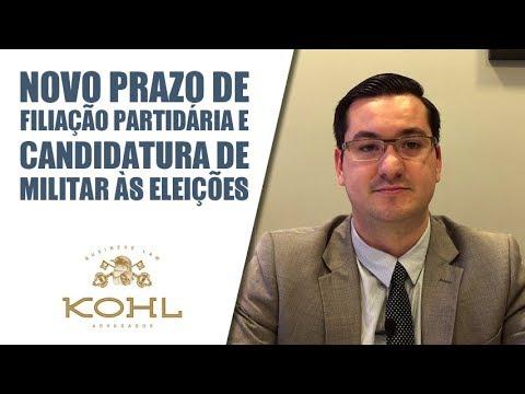 Novo prazo de filiação partidária e candidatura de militar às eleições - Kohl Advogados