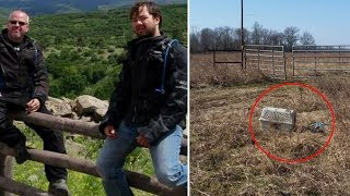 Father And Son Find Abandoned Crate In Field— Nothing Could Prepare Them For What Was Inside