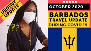NEW Barbados Travel Protocols October 16, 2020 // LATEST Covid Travel to Barbados + CANADA Update