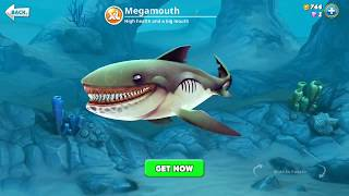 hungry shark world, megamouth (3D Motion)