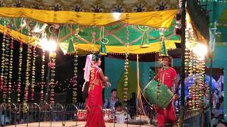 Durga Puja Jhoom Saritha Danda Nritya 9777951993