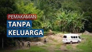 Detik-detik Ibu Hamil PDP Virus Corona di Padangsidimpuan Dimakamkan Tanpa Dihadiri Keluarga
