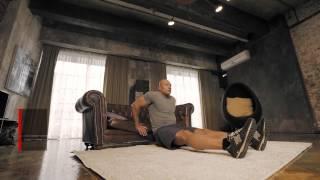 Упражнения на трицепс: диван вместо тренажера