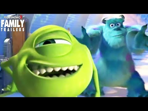 Monsters Inc. | Funny Bloopers For The Disney Pixar Animated Family Movie