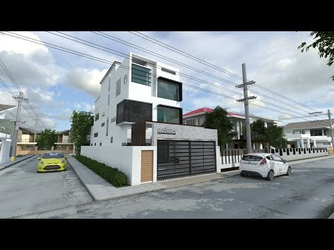 Download youtube to mp3 sketchup vray 32 render ngo i for Casa moderna sketchup download