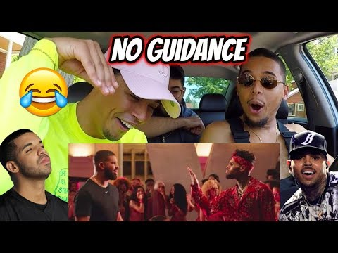 Chris Brown - No Guidance (Official Video) ft. Drake   REACTION REVIEW