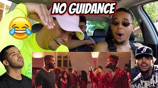 Chris Brown   No Guidance (Official Video) Ft. Drake | REACTION REVIEW