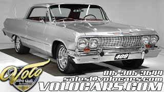 1963 Chevrolet Impala SS 409 For Sale At Volo Auto Museum (V18906)