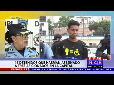 Un total de 11 detenidos por muerte de 3 jóvenes en agosto #CasoEstadio