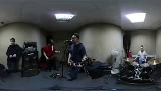 Группа Пазитифф. На репетиции. 360 видео Кемерово. 2