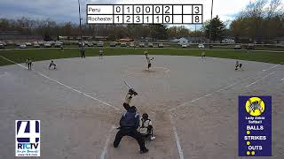 Rochester Softball vs Peru