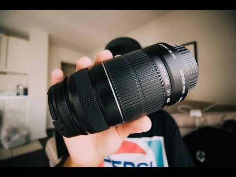 CANON 55-250mm MACRO LENS REVIEW (CHEAPEST MACRO LENS)