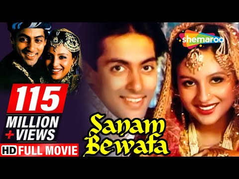 Sanam Bewafa {HD} - Salman Khan | Chandni | Danny - Superhit Romantic Movie - (With Eng Subtitles) Mp3