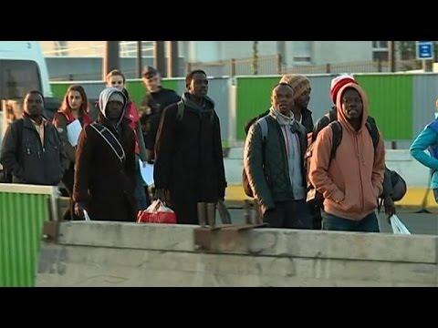Γαλλία: Εκκένωση αυτοσχέδιου προσφυγικού καταυλισμού