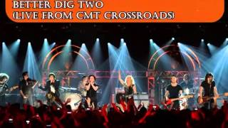 Fall Out Boy feat.The Band Perry -Better Dig Two (Live from CMT Crossroads) AUDIO