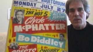 Eddie Cochran, Bo Diddley Concert Posters 1950s Rock N Roll