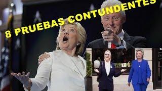 8 Pruebas Contundentes de que Hillary Clinton tiene Parkinson