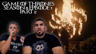 Game of Thrones Season 8 Episode 1 'Winterfell' Part 2 REACTION!!