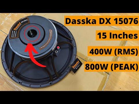Dasska DX 15076 15 Inch DJ Speaker 400W