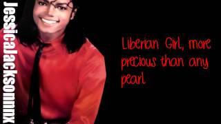 Michael Jackson-Liberian Girl Lyrics