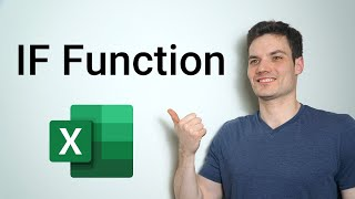 IF Function in Excel Tutorial