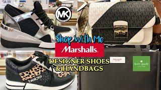 Marshalls Come Shop With Me For Designer Shoes & Handbags MICHAEL KORS KATE SPADE MARC JACOBS