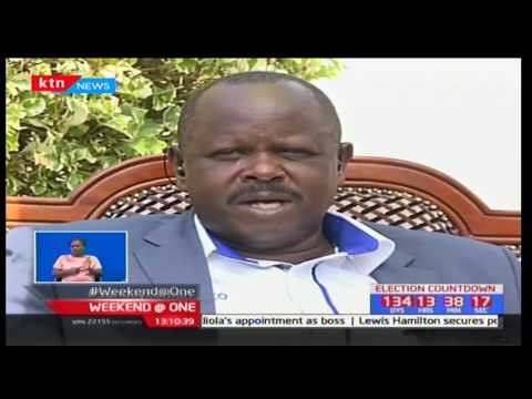 Bomet governor Isaac Ruto hints that his party could be supporting the opposition