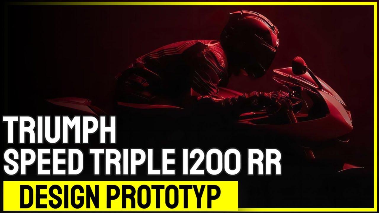 Neu: Speed Triple 1200 RR Design Prototyp