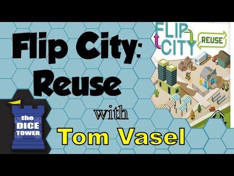 Dice Tower Reviews: Flip City: Reuse