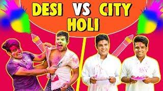 DESI VS CITY HOLI Celebrations | The Half-Ticket Shows