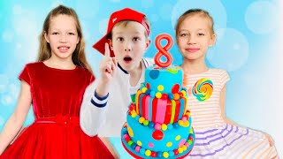 МИСТЕР МАКС пригласил на День Рождения Диану и Еву !