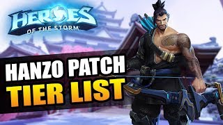 Hanzo patch - Tier List // Heroes of the Storm