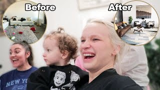 Surprise Home Makeover! (Unbelievable Transformation)