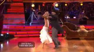 Joey Fatone & Kym Johnson - Quickstep to Creep (10/1/12)